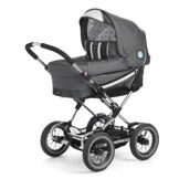 Emmaljunga Edge Duo Combi PP Dark Grey (шасси Duo S)