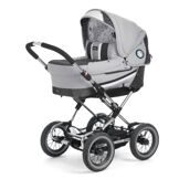 Emmaljunga Edge Duo Combi PP Light Grey (шасси Duo S)