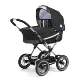Emmaljunga Edge Duo Combi PP Black (шасси Duo S)